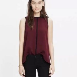 •Madewell• Crepe Canal Blouse
